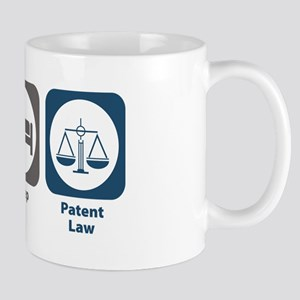 Eat Sleep Patent Law Mug